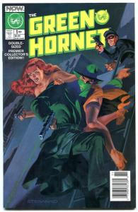 Green Hornet #1 1989- STERANKO painted cover- Now Comics NM-