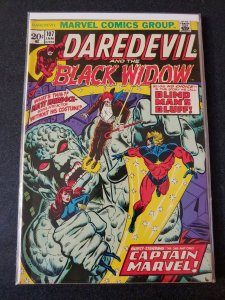 DAREDEVIL #107 CAPTAIN MARVEL