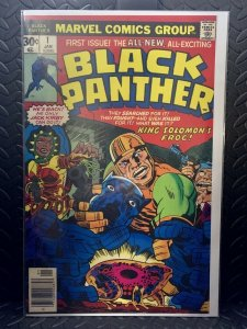 Black Panther #1 | Comic Book Cover Replica | 11x17 Poster