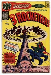 BLAST OFF #1 1965-THREE ROCKETEERS-KIRBY-SIMON-HARVEY COMICS
