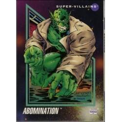 1992 Marvel Universe Series 3 ABOMINATION #101