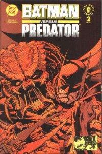 Batman versus Predator #2, VF+ (Stock photo)