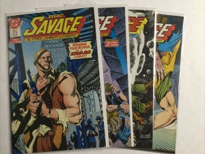 Doc Savage 1-4 1 2 3 4 Lot Set Run Vf Very Fine 8.0 Dc Comics