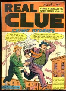 REAL CLUE CRIME STORIES V.5 #1-BOXING STORY VG