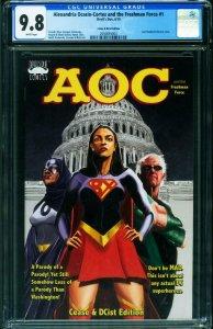Alexandria Ocasio-Cortez & Freshman Force #1 CGC 9.8 Cease and dcist 2050855004