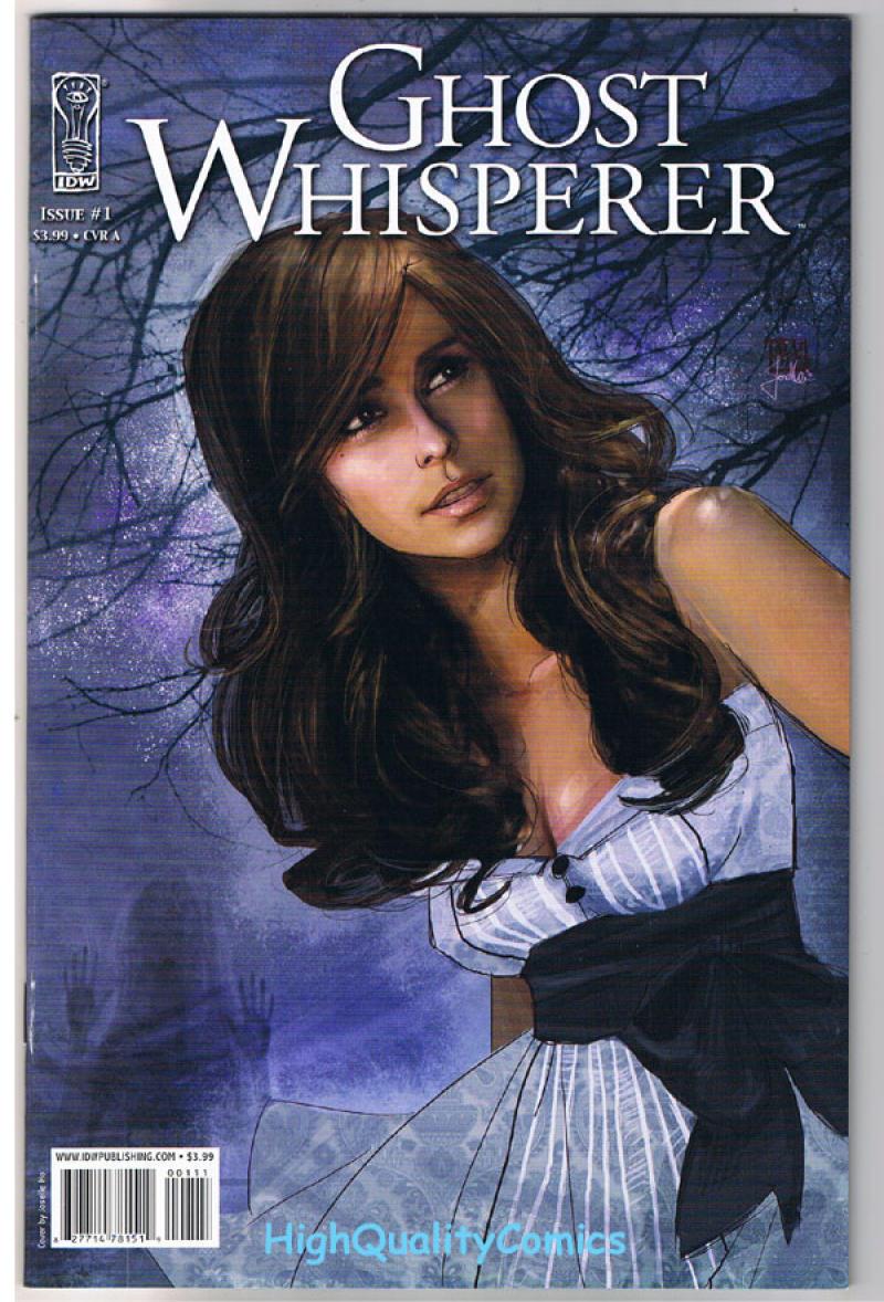 Ghost Whisperer Comic Book #2 A IDW 2008 NEAR MINT NEW UNREAD