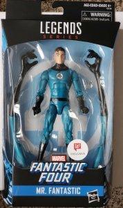 WALGREENS MARVEL LEGENDS - Fantastic Four: Mr. Fantastic (Hasbro) Mint in Box!