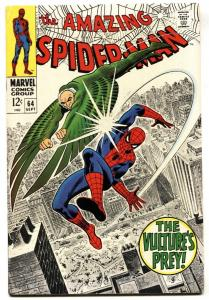 AMAZING SPIDER-MAN #64-MARVEL COMICS SILVER-AGE VF