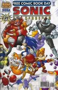 Sonic the Hedgehog FCBD #2008 VF; Archie | save on shipping - details inside