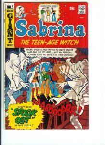 Sabrina #5 - Bronze Age - April 1972 (VF)