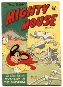 Mighty Mouse #52 1954- Mystery in the museum FN+