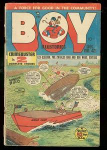 BOY COMICS #43 1948-CHARLES BIRO-BOB WOOD-NORMAN MAURER VG
