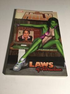 She-hulk Vol 4 Laws Of Attraction Tpb Vf Very Fine Marvel Comics