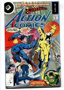 ACTION COMICS #488 Whitman variant! 1978- MICROWAVE MAN VF/NM