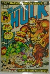 The Incredible Hulk #169 - 4.0 VG - 1973