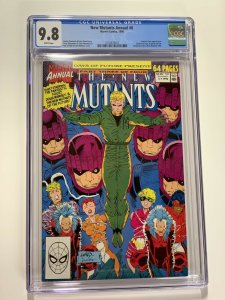 New Mutants Annual 6 Cgc 9.8 White Pages Marvel X-men