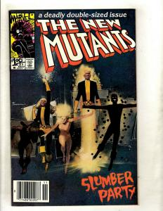 Lot Of 10 New Mutants Marvel Comic Books # 21 22 23 24 26 27 28 29 30 31 JF23