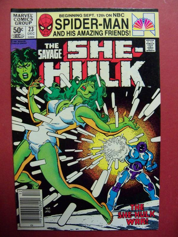 THE SAVAGE SHE-HULK #23  VF/NM (9.0) OR BETTER  MARVEL COMICS