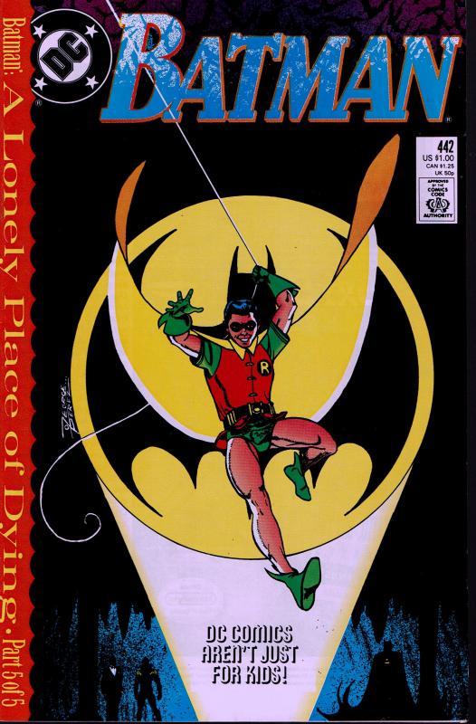 Batman #442 - 1st Tim Drake as Robin - NM