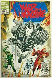 INVINCIBLE IRON MAN#283 FN/VF 1992 WAR MACHINE MARVEL COMICS