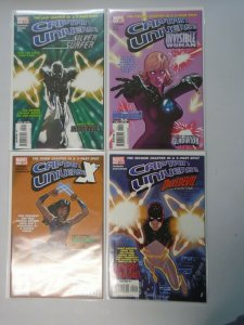 Captain Universe comic lot 4 different 6.0 FN (2006)