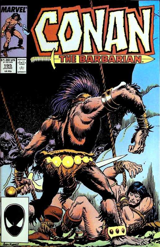Conan the Barbarian #195 (1987)