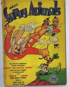 Fawcett Funny Animals #44 ORIGINAL Vintage 1946 Dell Comics Golden Age