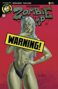 Zombie Tramp #71 Cvr F Herman Ltd Ed Variant (2020) NM
