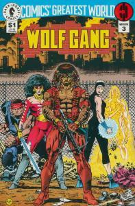 Comics' Greatest World—Steel Harbor #3 VF/NM; Dark Horse   save on shipping - de