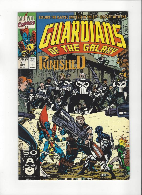 Guardians Of The Galaxy #18 Punishers NM