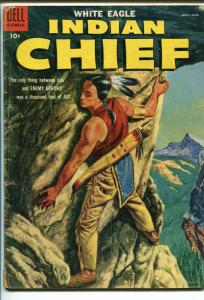 INDIAN CHIEF  #18 1955-DELL-WHITE EAGLE-good