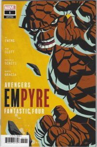 Empyre #1 Variant Thing Cover