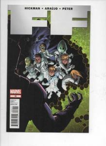 FF #22, NM, Hickman, Araujo, 2012, more Marvel in store