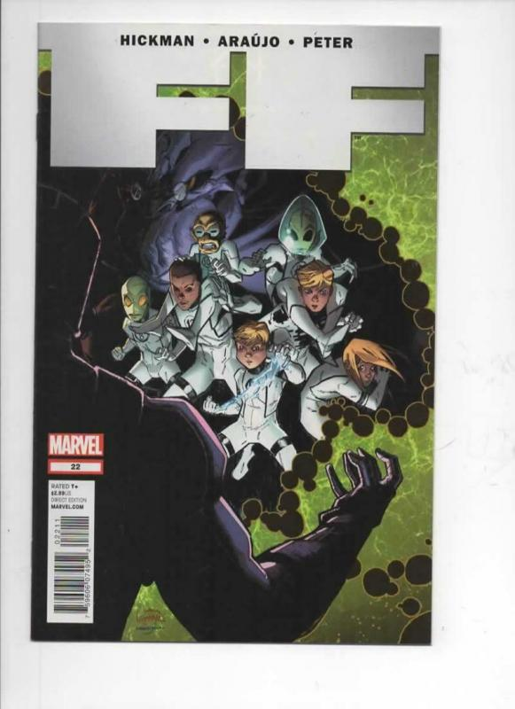 FF #22, NM, Hickman, Araujo, 2012, more Marvel in store