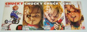 Chucky #1-4 VF/NM complete series - child's play - all B variants set lot 2 3