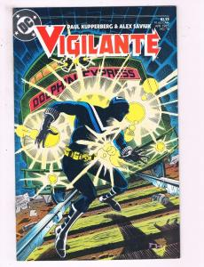 Vigilante #16 VF DC Comics Comic Book Kupperberg DE19