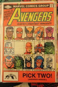 Avengers 221  NM