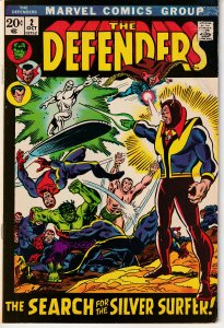 Defenders(vol. 1) # 2 In Search of the Silver Surfer