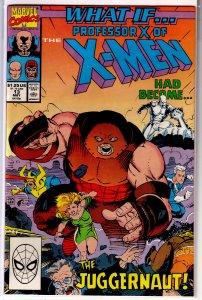 What If? (vol. 2, 1989) # 13 VF X-Men, Busiek, Juggernaut