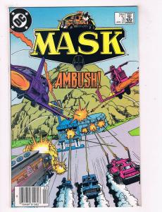 Mask #3 VG/FN DC Comics Ambush Comic Book Apr 1987 DE39 AD12
