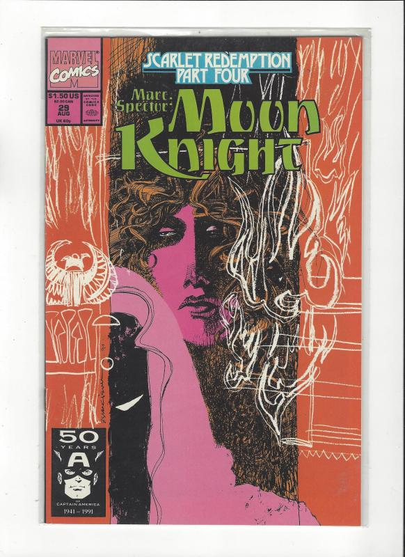 Marc Spector: Moon Knight #29 Scarlet Redemption NM