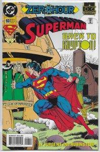 Superman   vol. 2   # 93 FN (Zero Hour)