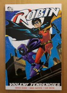 ROBIN:  VIOLENT TENDENCIES TPB SOFT COVER GRAPHIC NOVEL 1ST PRINT NM
