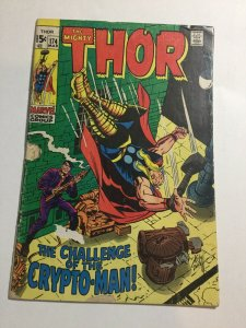 Thor 174 Gd Good 2.0 Marvel Comics