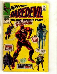 Daredevil # 27 VG Marvel Comic Book Foggy Karen Avengers Defenders Owl GK2