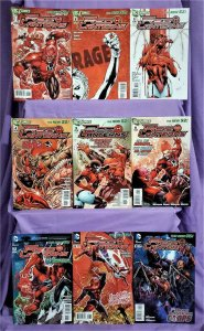 DC New 52 RED LANTERNS #1 - 9 Peter Milligan Ed Benes Atrocitus (DC, 2011)