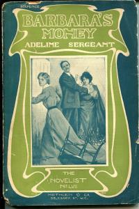 Barbara's Money 1904-Metheun-Adeline Sergeant-U.K.-P