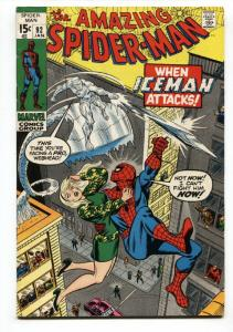 Amazing Spider-Man #92 1971-Iceman--MARVEL COMICS FN+