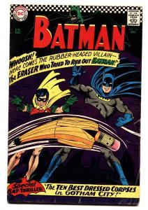 BATMAN #188 1967 comic book silver-age DC Silver Age