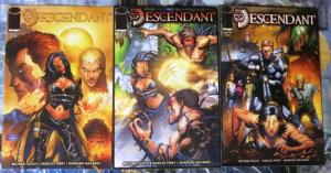 DESCENDANT (2009 IM) 1-3 Inca gods, scantily clad women